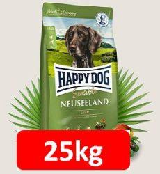 Kedvezményes szállítással : Happy Dog Supreme sensibile Neuseeland 12,5kg