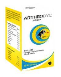 Arthrodyl porcvédő tabletta kutyáknak 50szem