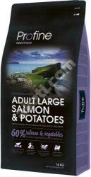 Profine Adult Large Salmon & Potatoes száraz kutyatáp 15 kg