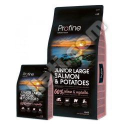 Profine Junior Large Salmon & Potatoes superprémium kutyatáp 15 kg