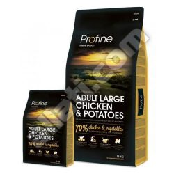 Profine super prémium Adult Large Chicken&Potatoes 15kg  izületvédelemmel