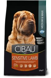 CIBAU  Sensitive Lamb Medium & Maxi 12+2=14kg.