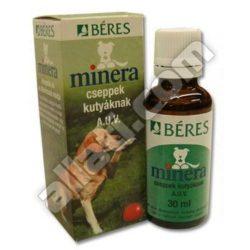 Minera Béres táplálékkiegészítő csepp kutyáknak 30 ml