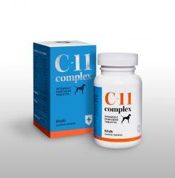 C-11 complex integrált porcvédő tabletta 60tabletta/doboz , Csomagolás váltás alatt