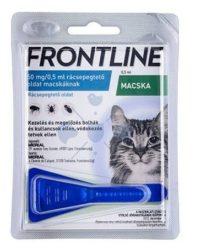 Frontline Spot-on macskák részére Kullancs , bolha és tetvek ellen ( Ez nem a combo , hanem az alap tipus)