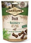 Carnilove Dog Semi Moist Snack kacsa rozmaringgal 200g