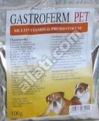 Gastroferm Pet probiotikum és vitamin por 100 gr.