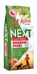 Panzi FitActive Next Meadow Stars Hypoallergenic Adult (nyúl,bárány,marha,rizs,alma) száraztáp - Ételallergiás, felnőtt kutyák részére (15kg)