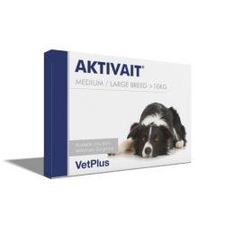 Aktivait medium large breed kutya kapszula 60 db , A kutyáknak való AKTIVAIT-et TILOS macskáknak adni.